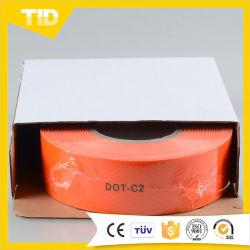 Venda por grosso de TID ponto cor de laranja-C2 a fita refletora