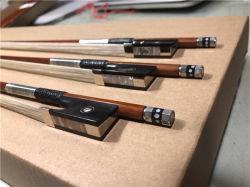 Pernambuco Holz-Violinen-Bogen, Cello-Bogen, Viola-Bogen