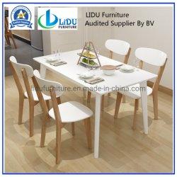 Table à manger moderne extensible extensible en bois massif Table à manger Tables de la mode Grande table rectangulaire