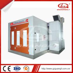 Suministro de la fábrica Guangli Ce aprobada Alquiler de cabina de pintura en Spray horno con sistema de calefacción eléctrica