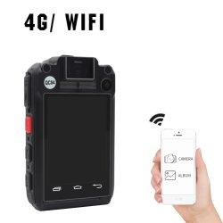 4G GPS Bluetooth 1080P van WiFi APP van de Software van het Scherm van de Aanraking van de Videocamera 2.8inch van de Politie de Lichaam Versleten Videocamera van de Visie van de Nacht van de Politie