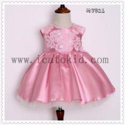 Handmade broderie robe de fête pour la fête de Noël robe de mariée
