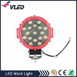 Schwarzer roter des Automobil-LED Flut-Träger LED Arbeits-des Licht-51W für die Autos nicht für den Straßenverkehr und spezielle Technik-Handlampe