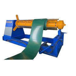 機械を形作る屋根ふきのための5t油圧Decoilerの機械かDecoiling機械