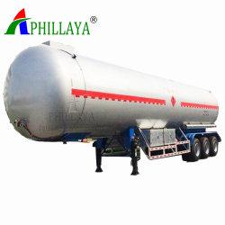 25ton 40cbm 50cbm圧力タンカーの搬送ガスタンク半LPGトレーラー(05)