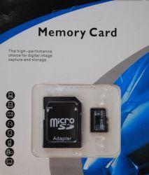 Memoria flash TF Micro SD microSD Card originale da 2 GB Adattatore +