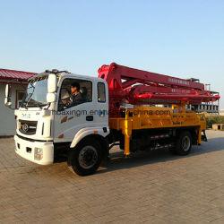 建設プロジェクトで使用される28mの具体的なポンプトラック