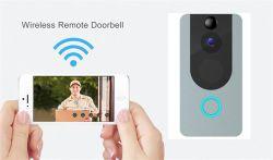 Porta de vídeo WiFi inteligente Bell Home uma visão nocturna sem fio de intercomunicador de vídeo para Vídeo de vídeo IP da campainha