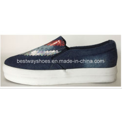 Модные обувь с женщин Paillette полотенного транспортера зерноочистки леди зерноочистки