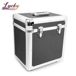 O alumínio de vinil preto caso Portable Vinil caso