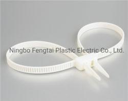 Kabelbinder gegenüber vonseiten-Handschellen formten doppelte Verschluss-Gleichheit