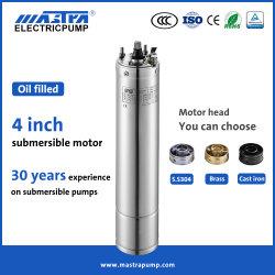 Mastra por ejemplo, 4 pulgadas de 220V/380V Oil-Filled AC Inversor Solar bien las bombas sumergibles de Pozo del Motor de bomba de agua