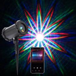 48 fase padrões de iluminação de terceiros com projetor de laser de alto-falante Bluetooth remoto para Piscina Piscina