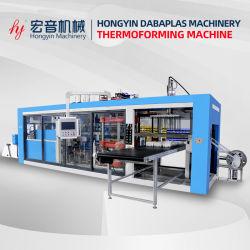 Drei Station-Vakuum, das Maschinen-negativer Druck-formenplastikmaschine bildet
