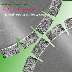 400mm segmentado de sierra de diamante Blades-Short circulares pequeños de la hoja de sinterización para el corte de Granito