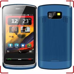 Dual SIM cuatribanda TV de pantalla táctil Celular N700