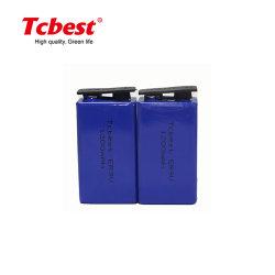 Fabricant OEM a accepté d'alimentation haute qualité de 9 volt batteries 1200mAh Li-Socl2 er9V
