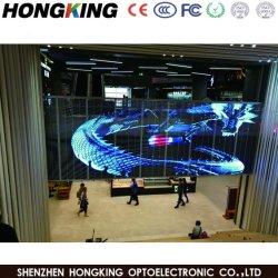 Transparenter ineinander greifen-Innenbildschirm der Bildschirmanzeige-Panel/LED Glasfür Mietstadiums-Erscheinen