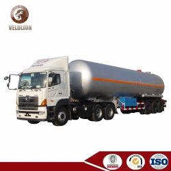 56000 litres GPL cuve sous pression du réservoir de Gaz de Pétrole Liquéfié semi-remorque Remorque semi-remorque-citerne GPL