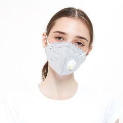 工場卸し売りカスタム高品質の再使用可能な抗菌反塵Nanoカーボンフィルター保護ウイルスのロゴGB2626 5の層3D FFP2 KN95 N95弁のマスク