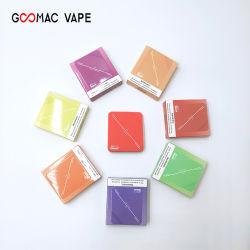 2020 лидеров продаж индивидуальные одноразовые Vape Puffs 350 в форме квадрата мини Vape пера пера