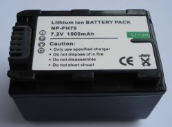 Camcorder Battery for Sony NP-FH70