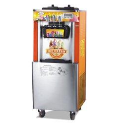 Tres de la pintura de color suave sabor a precio de la máquina de helados