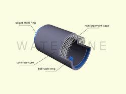 Stahlbell-und Zapfen-verstärkter Beton-Abflussrohr