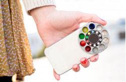 iPhone5のためのStar Cross Screen Special EffectのためのCamera Effect Handling FilterのBuiltの卸し売りIMD Mobile Phone Case