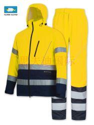 حماية الشتاء الباردة المخصصة تعمل صناعة العمل المضادة للكهرباء الاستاتيكية ذات الرؤية العالية الملابس العاكسة