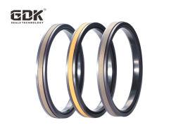 GDK-PTFE SPGW+joint caoutchouc+Ny piston Joints hydrauliques de la série pour la construction mécanique
