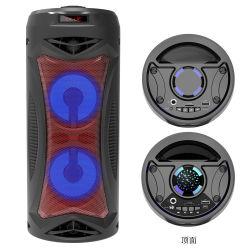 Banheira de Venda Dual Portátil Piscina Alto-falante Bluetooth Alto-falante sem Fio da Bateria de longa duração de vida com Mic (6,5 cabeça) Função microfone