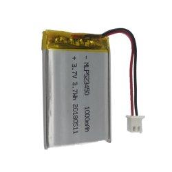 523450 1000mAh 3,7V zylindrischer OEM-Hochtemperatur-Lithium-Polymer-Ionen Akkuzellen Pack
