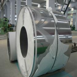 AISI ASTM A240 201 202 304 304L 316 316L 321 310S 904L 2205 2507 bobina de aço inoxidável com 2b Ba hl 8 Superfície K