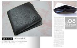 2013 L'argent Portefeuille en cuir (TERRA-009)