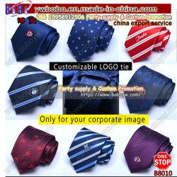 Kaufendes und Kaufservice Geschäfts-Geschenk-gesetztes Weihnachtsgeschenk-Jacquardwebstuhl-Krawatten-Halsbekleidung-China-Auftreten (B8010)