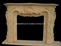La sculpture de marbre cheminée (9472)