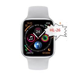 アマゾン熱い様式Hl26のスマートな腕時計ECG W26 W34 W16 Btは時計バンドのBluetoothのゲートウェイデータAPP装置温度を呼出す