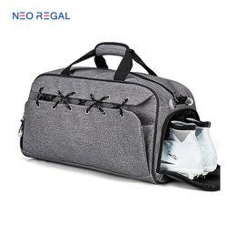 Duradero y elegante de alta calidad multifuncional de gran capacidad Gimnasio Deporte Duffel Bolsa de viaje con compartimento zapatos