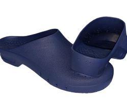 أحذية السلامة المطاطية الجراحية الرخيصة والمريحة ذات اللون الأزرق البحري