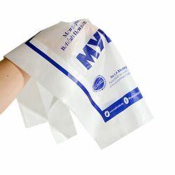 L'emballage biodégradable de vente chaude Poly Soft sac de plastique de la poignée de boucle