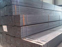 Secção oca tubos quadrados perfurado galvanizado o tubo quadrado