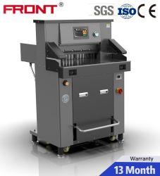 CE용 유압 종이 커터 520mm A3 종이 절단 기계 표준 프론트