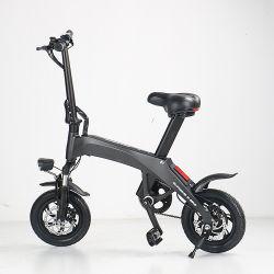 Ecorider E6-2の小型小型のバイクの電気12インチカーボンファイバーの電気自転車