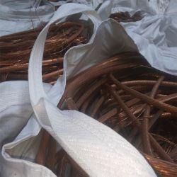 Venta caliente, el inventario es suficiente, chatarra de cable de cobre 99,95%-99,99%