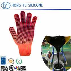 Anti-hoge en lage temperatuur Milieu 1: 1 vloeibaar siliconenrubber voor T-shirt gecoat