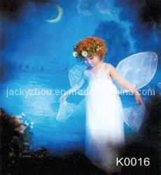 Sfondo per bambini, dipinto a mano (K0016)