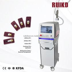 Q-Switched Apparatuur van de Salon van de Zorg van de Huid van de Machine van de Tatoegering van de Laser van Nd YAG