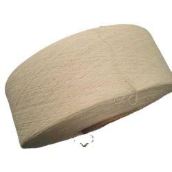 7-16 points fil machine à fil machine en coton recyclé Coton blanc naturel en fibre chimique