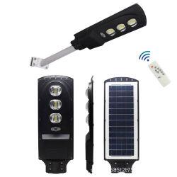 IP68 Mdern haute puissance de tous dans une lampe solaire intégré 20W 40W 60W à LED de plein air Rue lumière solaire avec panneau solaire de l'éclairage de la Force de certification de la CCC RoHS